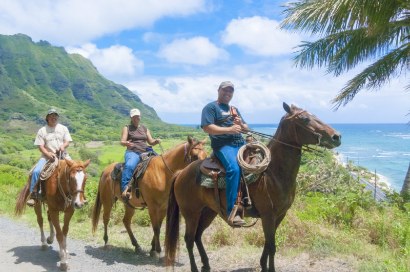 150 Things To Do On Oahu - Go on a horseback riding tour.