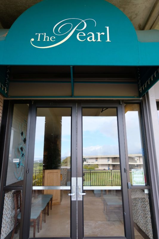 The Best Lookout For Pearl Harbor Ships Is At Leeward Community College - The Pearl is a great place for fine dining.