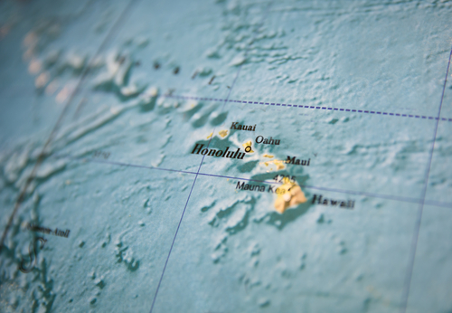 A map of the Hawaiian Islands. How do you choose the best Hawaiian Island to visit?