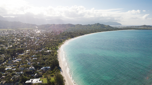 Best beaches in Hawaii: Kailua Beach. Hawaii travel. Things to do in Oahu. Things to do in Hawaii.