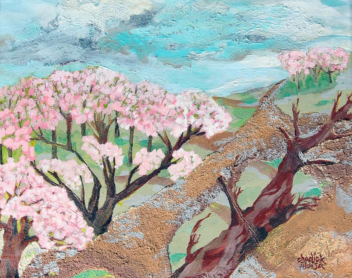 Pam Chadick Aloisa. Trees.