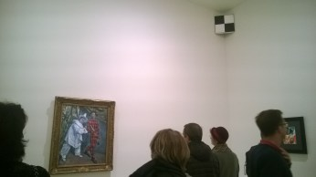 The final room: Cezanne, Picasso and one of Malevich's Black Squares
