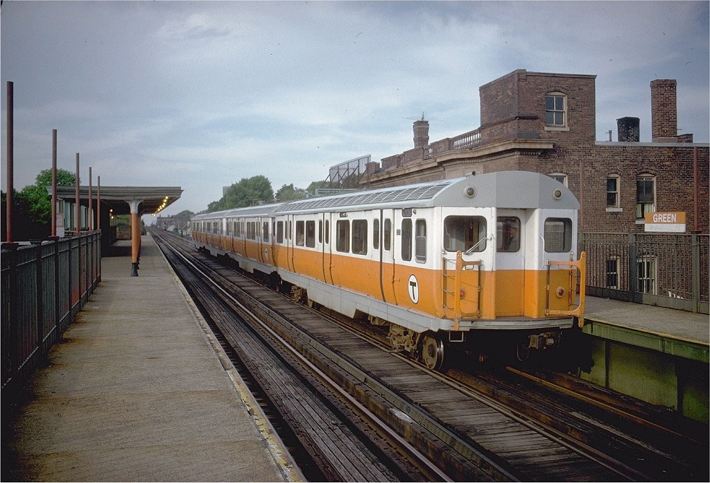 Orange Line - Green St
