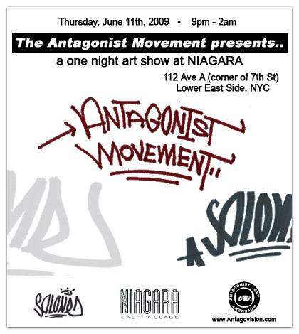 Antagonist flyer