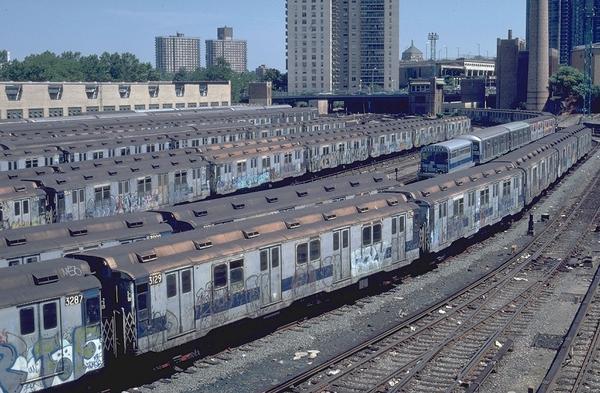 IZ trainyard