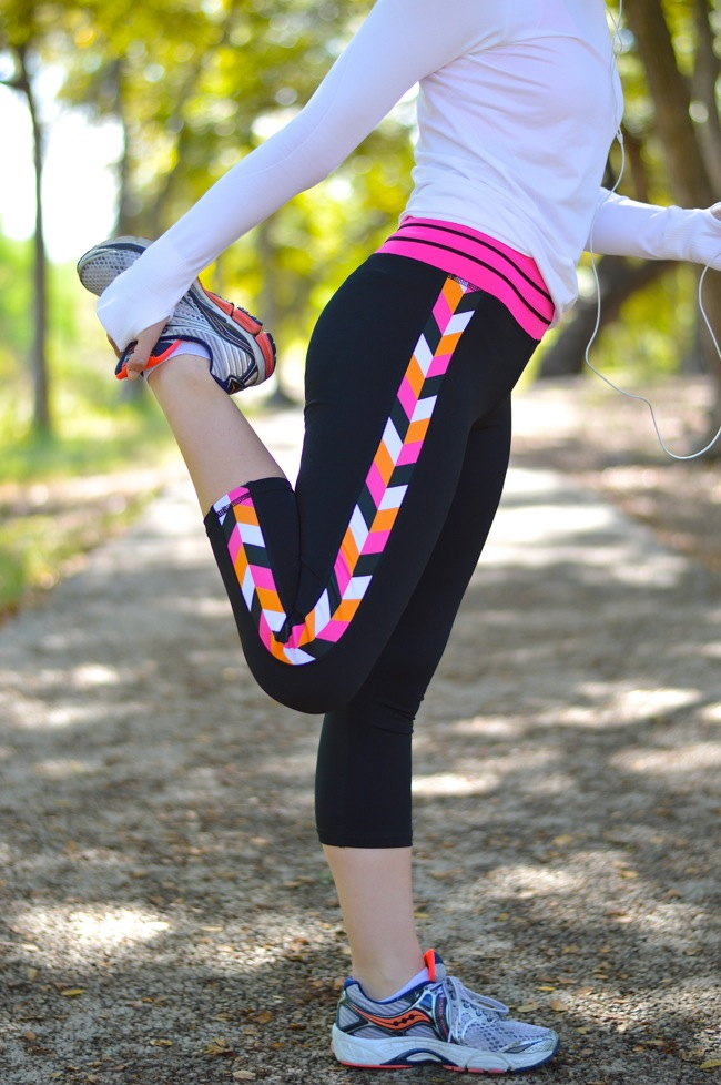 Devon Maryn, preppy workout clothes, chevron yoga pants, cute workout clothes, yoga pants, cute yoga pans, sorority girl clothes, total sorority move, lululemon, lululemon long sleeved top, southern style, workout clothes