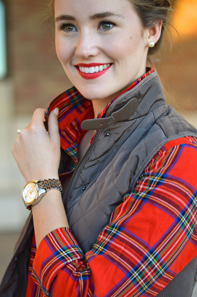 Equestrian Quilted Vest A Lonestar State Of Southern