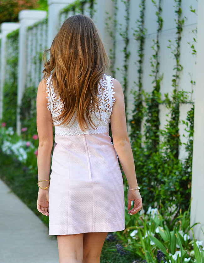 lilly pulitzer dress, easter dress, southern girl, easter style, sorority girl, rush outfits, what to wear to rush, rush dresses. breakers dress, lace, tory burch wedges, white wedges,