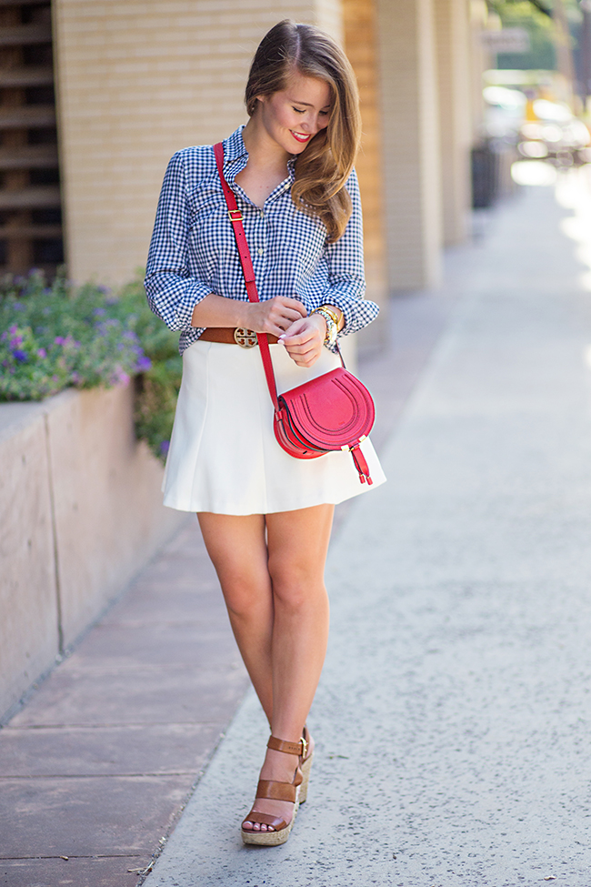 Summer Gingham A Lonestar State Of Southern