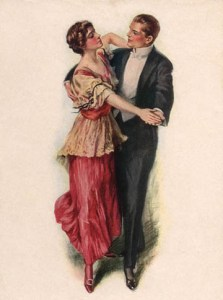 Ragtime dancing was a popular past time