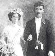1912 Wedding Couple