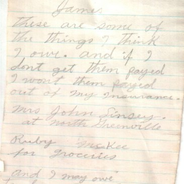 Genealogy Friday: Gems in Old Letters