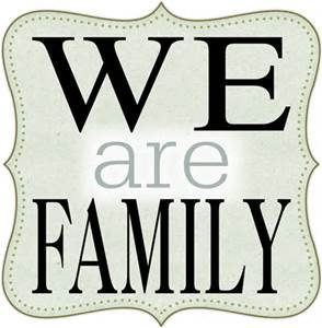 we are family