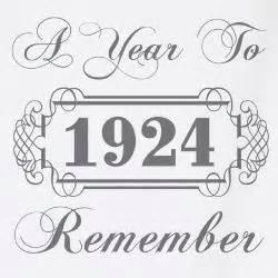 1924 Remember