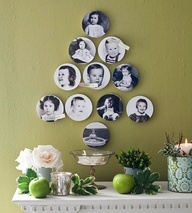 There are many ways to decorate with family history