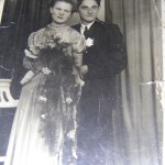 Incorporate old family photos into your special day
