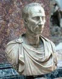 A bust of Ariovistus