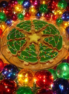 Christmas cookies are popular for Christmas parties and family gatherings