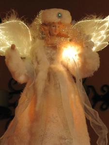 Angels are a popular Christmas decoration