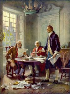 Writing of the Declaration of Independence