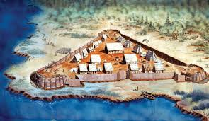 The settlement in Jamestown was well established by this point as the Pilgrims decided on Virginia for their new home