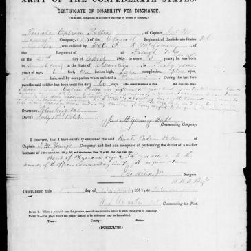 What Military Records Can Provide About An Ancestors Appearance