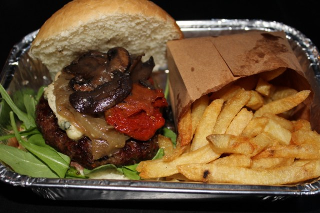 Buenos Aires Food Guide: Bleu burger from Burger Joint, via A Lo Profile