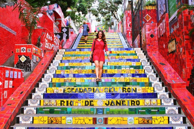 Escadaria Selaron, Rio travel guide via A Lo Profile