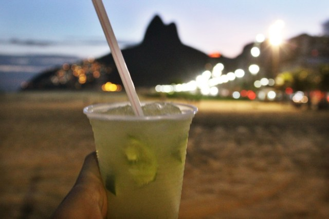 Caipirinha on Ipanema beach, Rio travel guide via A Lo Profile