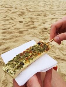 Beach food, Rio travel guide via A Lo Profile