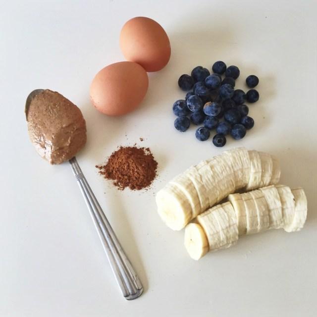 3 ingredient pancake recipe via A Lo Profile (www.aloprofile.com)