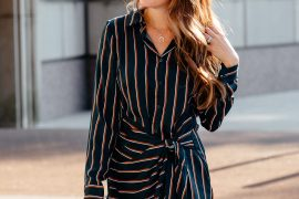 Friday Favorites: Fall's Best Wrap Dresses via A Lo Profile.