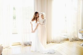 Getting Ready on Our Wedding Day via A Lo Profile