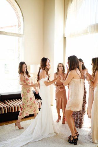 Our Wedding Day Photos via A Lo Profile-- getting ready.