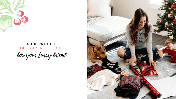 Holiday Gift Guide for your furry friend via A Lo Profile