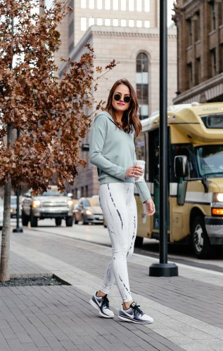 January activewear favorites via Dallas Blogger A Lo Profile. Click through to shop all the cutest looks to help you stay motivated and get back in shape in the new year!