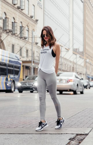 Seeking Balance-- Dallas blogger A Lo Profile shares her tips on living a balanced life. #balance #workout #activewear