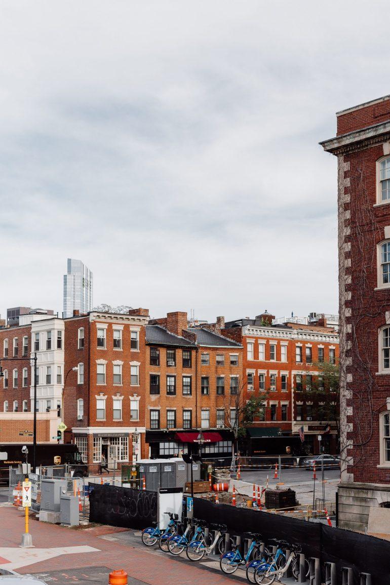 Boston City View via A Lo Profile's Boston Travel Guide