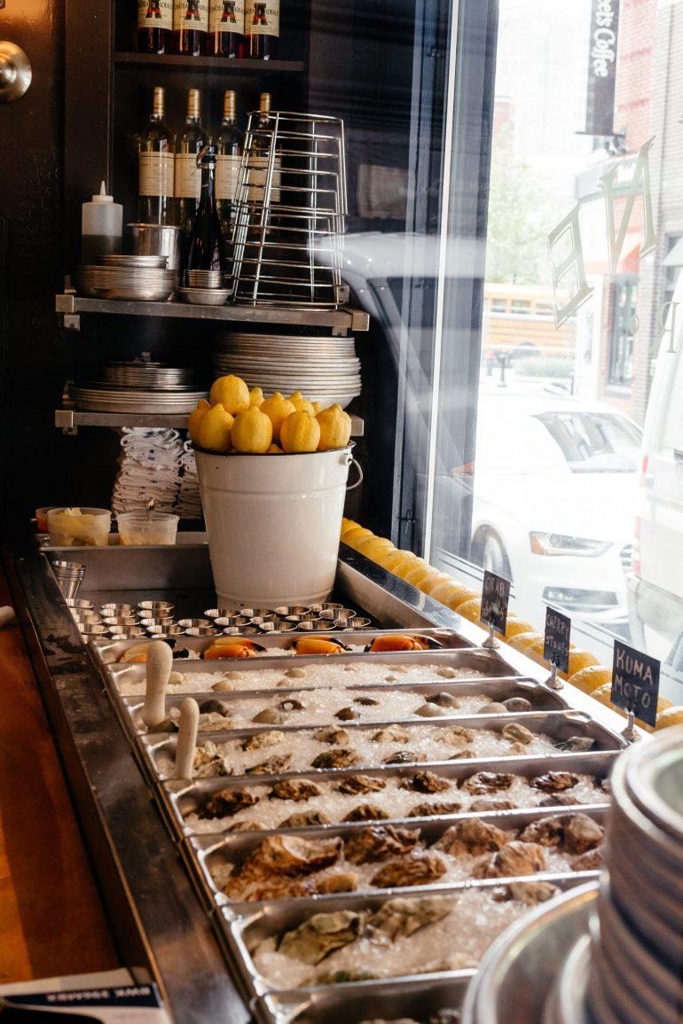 Neptune Oyster Bar Raw Bar via A Lo Profile's Boston Travel Guide