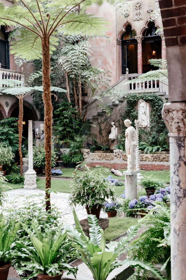 Isabella Stewart Gardner Museum via A Lo Profile's Boston Travel Guide