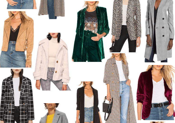 Sharing a round up of the cutest fall jackets so you can find all the jackets for fall you need. There are options in every price range and style!