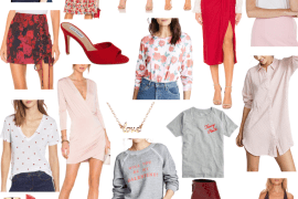 Sharing a lot of Valentine's outfit ideas to help you solve the problem of what to wear this valentine's day! I've got items for everyone in every price.