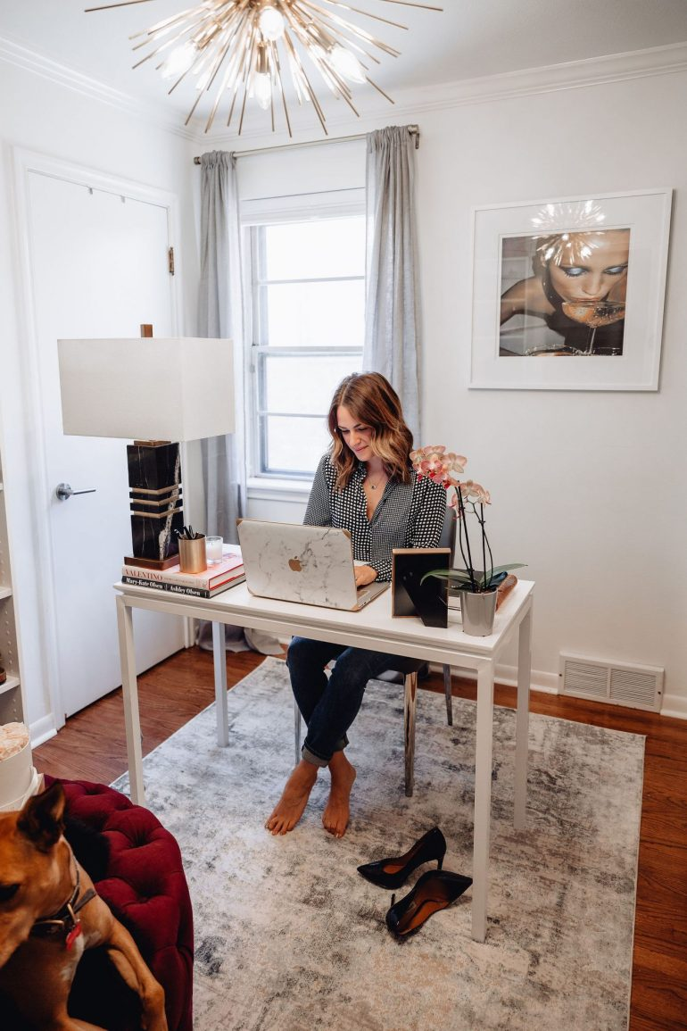 Sharing my office furniture from Safavieh today as I make progress in my Cloffice (Closet + Office) space at home before I share the full reveal, soon!