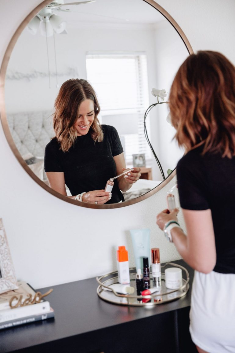 Finally sharing my spring morning skincare routine including all the products I'm currently using & the order in which I apply them for maximum results.