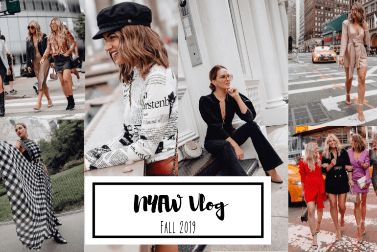 Sharing my NYFW Vlog from my Fall 2019 trip with a lot of behind the scenes of New York Fashion Week, outfits, events, parties, food, & more.