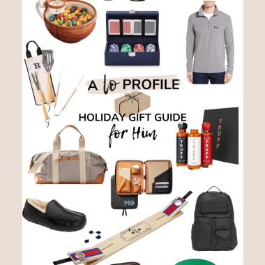 Today I'm sharing all of my top ideas for gifts for him. Whether you're shopping for a friend, boyfriend, husband, or father I've got you covered!