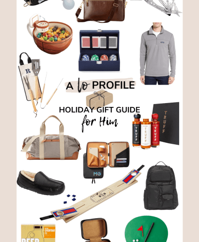 Sharing all of my top ideas for gifts for him. Whether you're shopping for a friend, boyfriend, husband, or father I've got you covered!