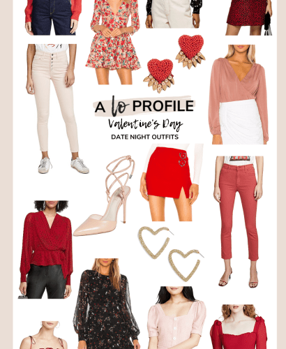 Sharing a collage of Valentine's Day night out outfits so you can get some inspo for your VDay no matter what your date night plans are this year.