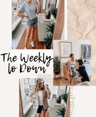 Sharing this week's version of The Weekly Lo Down including tons of cute finds, things you may have missed, weekend sales, discount codes, & more.