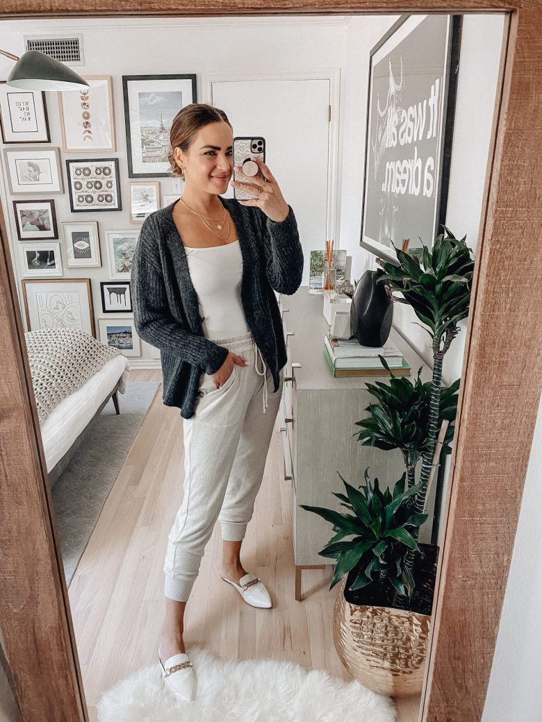 Sharing a roundup of 15 ways to style a cardigan with an under $50 cardigan I got from the Nordstrom Sale including options for work, casual, & going out.